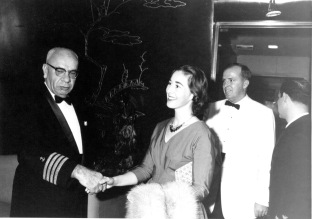 Meeting the Indian Navy Admiral?