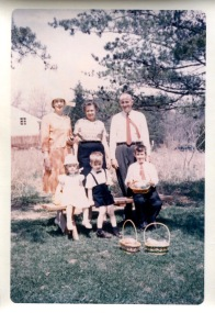 April 22, 1962: Eloise, Clyda, Michael J., Louisa, Frank, Michael R. Walsh
