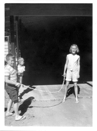 San Francisco, 1963: Michael, Frank, and Susan Rathbun