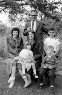 Kenneth Conningham, Eloise Rathbun Walsh, Jean Rathbun Conningham, Michael, Louisa, Frank
