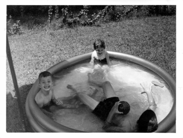 Kiddie pool at our house.