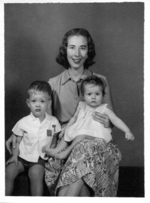 Eloise with Frank & Louisa, 1960