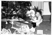 """We surprised Santa so he turned into plastic!"" - (True story)"