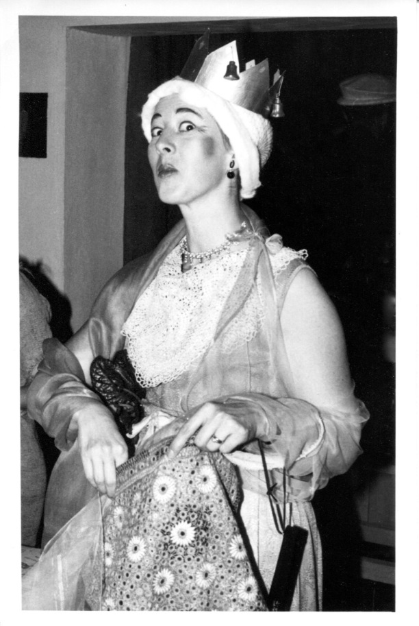 """December 18, 1965: """"Tramp Party"""" at the Fosters, Eloise as the Madwoman of Chaillot"""""""