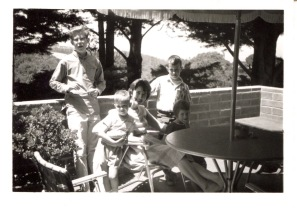San Francisco, 1963: Larry Conningham, Frank, Eloise Michael, Louisa