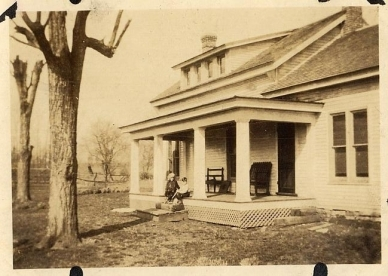 Thomas farmhouse, 1920s or 30s