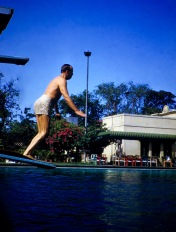 George at Colombo Swimming pool